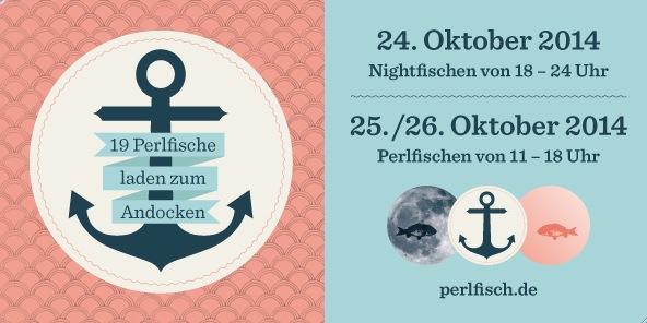 Einladung zu Perlfisch vom 24.10. bis 26.10.2014 in Düsseldorf.