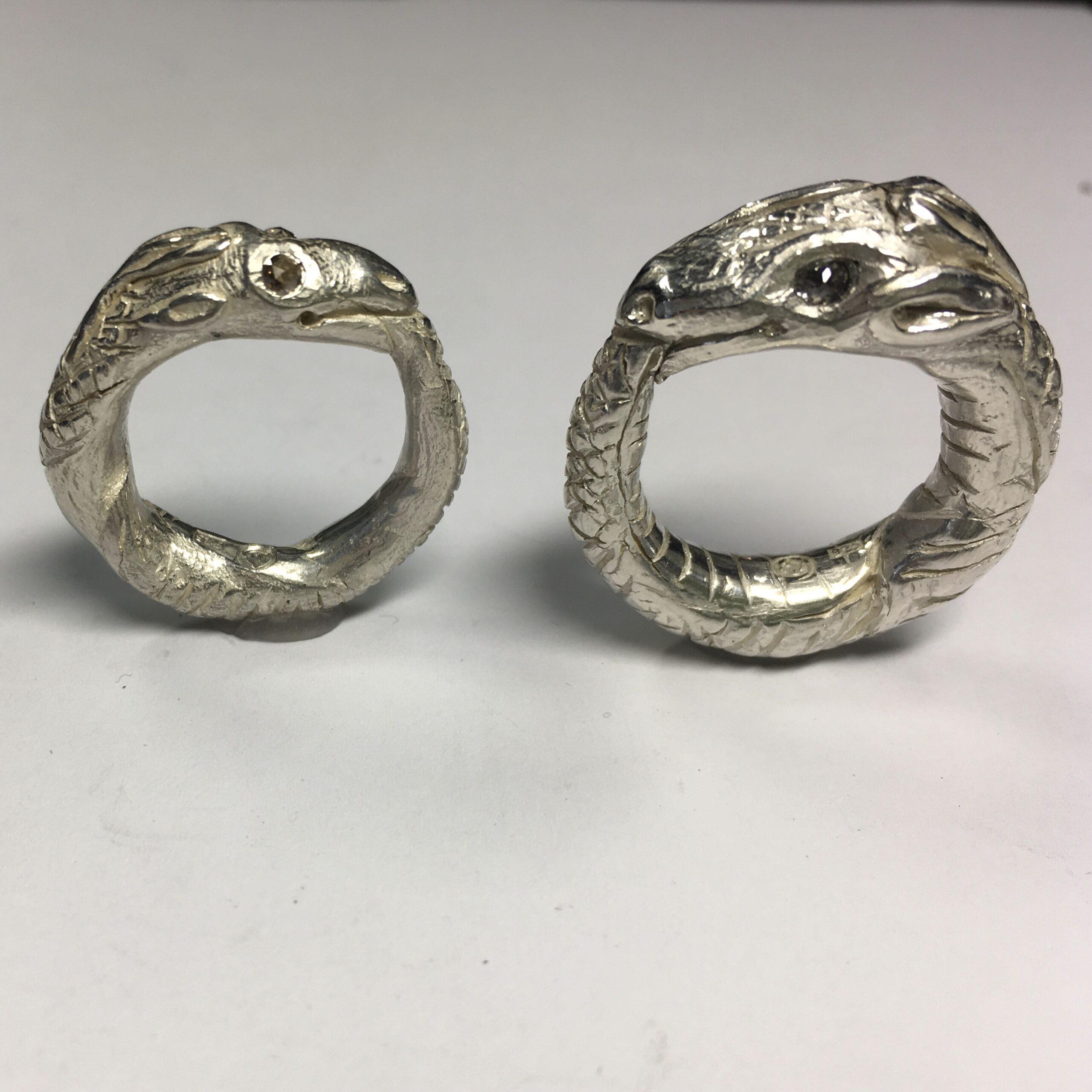 Ouroborus, Silberunikate, Rosendiamanten
