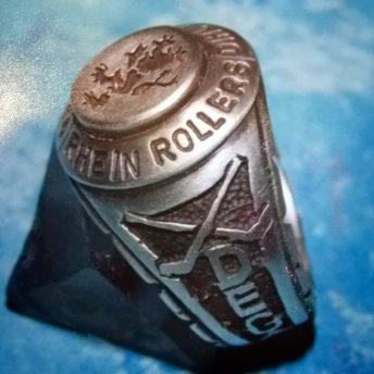 DEG Rhein Rollers erster Siegerring von 1996