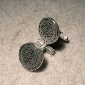 Unikat aus 925er Silber, gelasert