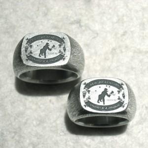 Unikate aus 925er Silber, gelasert